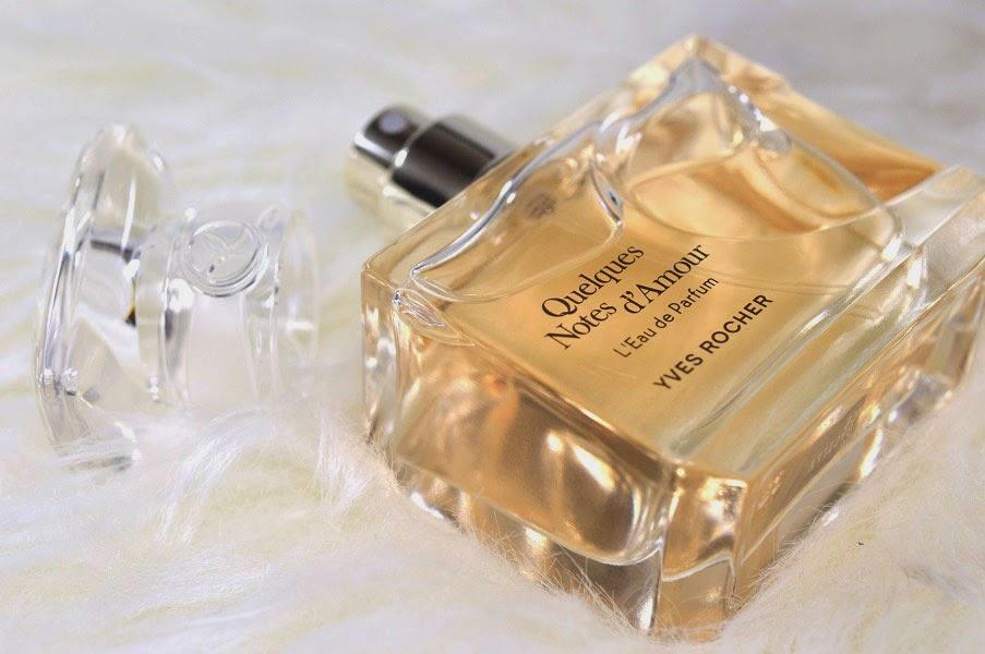 Parfum Yves Rocher Quelques Notes Damour 30ml Plus Cadou Lapte De