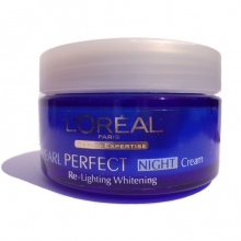 Crema de noapte L'Oreal Paris Dermo-Expertise Pearl Perfect Re-lighting Whitening