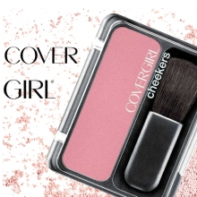 Fard de obraz pudra - Cover Girl  - U.S.A. - Cheeekers – No.105 - Rose Silk