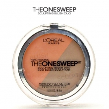 Fard obraji sculptant L'Oreal Studio Secrets - The One Sweep™ Sculpting Blush Duo - No.825 - Nectar