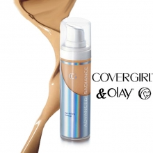 Fond de ten antirid Cover Girl & Olay Advanced Radiance Age-Defying Liquid Makeup - No. 145 - Warm Beige