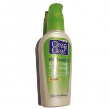 Lotiune hidratanta pt. controlul stralucirii ten gras sau acneic - Johnson Clean and Clear - Oil-Free - 100ml