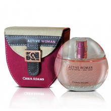 Parfum feminin EDP - Chris Adams - Active Women - Spray - 80ml.