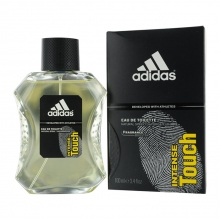 Apa de toaleta Intense Touch Adidas for men - 100 ml. Spray