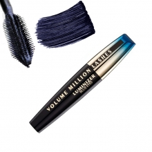 Rimel pentru volum iluminator L'Oreal Paris Million Lashes Luminize Blue Eyes - Dark Saphire