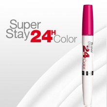 Ruj Maybelline New York rezistenta extrema - 24h Superstay Dual Ended - No.175 - Extreme Fuchsia