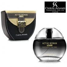 Parfum feminin EDP - Chris Adams - Active Woman Noire - 80ml