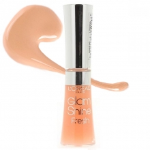 Luciu buze L'Oreal Paris Glam Shine Fresh - No.186 - Aqua Grapefruit