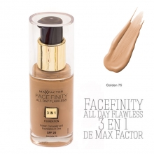 Fond ten Max Factor Facefinity all day flawless 3 in 1 Foundation - No.75 – Golden