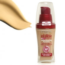 Fond de ten L'Oreal Paris Infallible Long – Lasting Perfecting Anti-Transfer 16H - No. 200 - Golden Sand