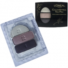 Fard de pleoape L'Oreal Paris Color Appeal trio TESTER - No.340 - Plum Crystal